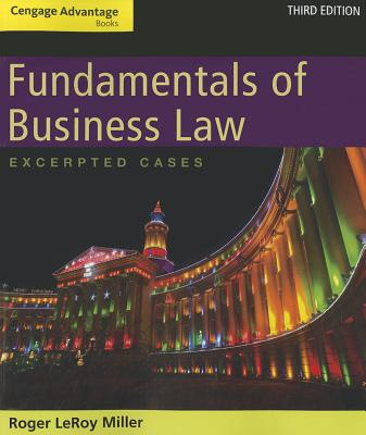 Fundamentals of Business Law By Miller, Roger LeRoy